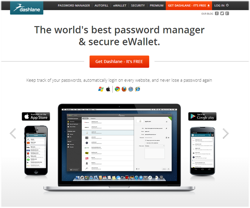 dashlane website 2.0